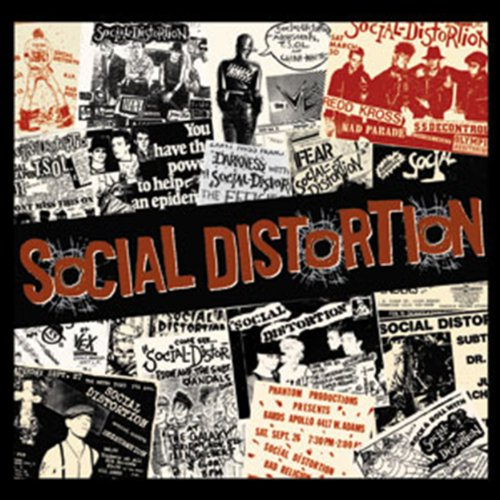 Licenses Products Social Distortion Newspaper Sticker