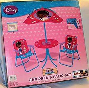 Disney Doc Mcstuffins Children's Garden Patio Play Set by Disney