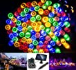 Solarmks DC-1200 Solar String Lights 200 Colored Led String Lights 72ft Solar Christmas Lights Outdoor