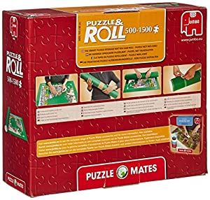 1 X Puzzle Mates Puzzle and Roll Jigroll with Two Fastening Straps