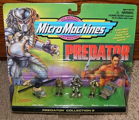 Picture of Galoob Predator Micro Machines Collection #2 Figure (B0019FQNEM) (Galoob Action Figures)