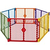North States Superyard Colorplay 6 Panel Playard