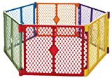 North States Superyard Play Yard, Colorplay, 6 Panel