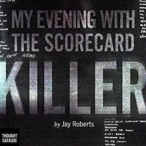 My Evening with the Scorecard Killer Audiobook