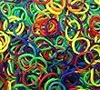 600 �lastiques et s-attaches multicolores en latex Twistz Bandz