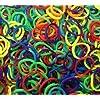 600 élastiques et s-attaches multicolores en latex Twistz Bandz