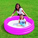 Planschbecken Pool 3 Ring Pink ca.122x25cm Bestway