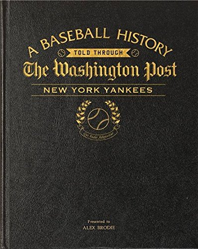 personalizzato-washington-post-new-york-yankees-libro-da-baseball-in-pelle