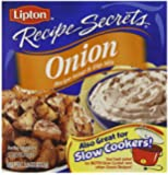 Lipton Recipe Secrets Soup and Dip Mix, Onion, 2 oz (Pack of 6)
