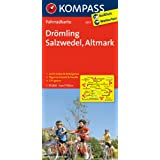 Drömling - Salzwedel - Altmark: Fahrradkarte. GPS-genau. 1:70000 (KOMPASS-Fahrradkarten Deutschland)