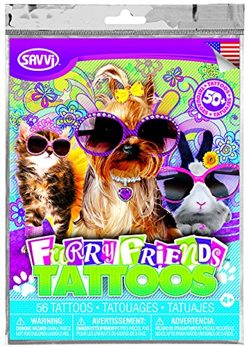 Savvi Furry Friends Tattoos ~ 50+ Tattoos - 1