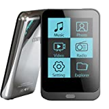 Coby MP823-8GBLK 8 GB 2-Inch Video MP3 Player with FM Radio (Black) (Discontinued by Manufacturer) (Color: Black, Tamaño: 2-Inch/8 GB)