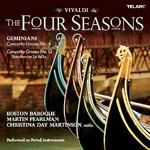 Vivaldi: The Four Seasons / Geminiani: Concerto Grosso Nos. 4 & 12