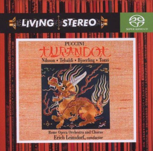 Turandot ( Renata Tebaldi) - Puccini - Super CD