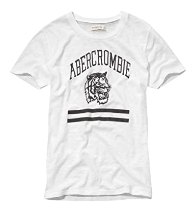 Abercrombie And Fitch T Shirt Weiß