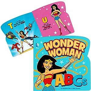 Wonder Woman ABC Book (Alphabet Board Book)