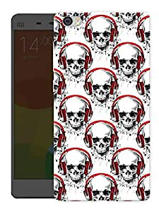 """Humor Gang Skulls And Music Printed Designer Mobile Back Cover For """"Xiaomi Redmi Mi5"""" (3D, Matte, Premium Quality Snap On Case)"""