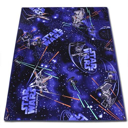Kinderspielteppich – Kinder Teppich 133x95cm – Spielteppich – Star Wars Teppich mit Motivauswahl (Space) bestellen