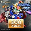300 Astros: SD Gundam Capsule Fighter Online [Game Connect]