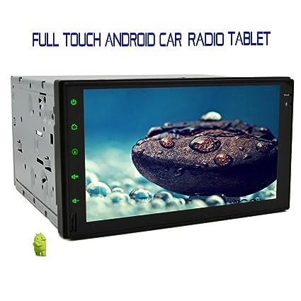 Auto Radio Super 7 en pulgadas TACTIL capacitiva avi pantalla completa GPS Auto en HD universelle Double DIN EN Dash GPS StšŠršŠo Navegaciš®n Tablet PC con pur Subwoofer androide 4.2.2 del GPS WIFI 3G de radio RDS au