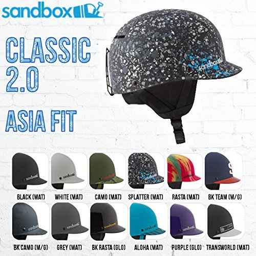 Sandbox(Sandbox) (サンドボックス) SANDBOX CLASSIC2 ASIAFIT S/M CAMO ヘルメット (Men's)