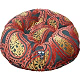 BESSIE AND BARNIE 24-Inch Bagel Bed For Pets, X-Small, Birds Of Paradise