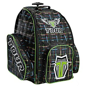 Tour Hockey 2013 Player Wheeled Backpack - 9027 by Tour Hockey
