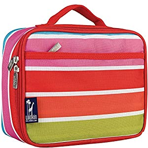 Wildkin Olive Kids Lunch Box,One Size,Bright Stripes