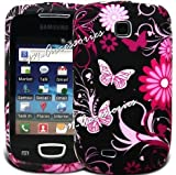 Fi9® SAMSUNG GT-S5570 GALAXY MINI LUXURY SOFT SILICONE SILICON CASE COVER POUCH SKIN FLORAL STYLE + SCREEN PROTECTOR