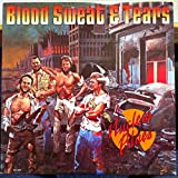 BLOOD SWEAT & TEARS nuclear blues LP Mint- MCA-3227 Record 1980 w/Insert