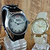 (ヴィヴィアンウエストウッド)Vivienne Westwood ペアウォッチ VV012BKVV006WHWH 腕時計【並行輸入品】