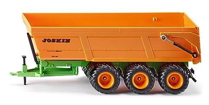Siku - 2892 - Véhicule sans piles - Benne monocoque 3 essieux Joskin - 1,32ème - métal