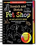 img - for Pet Shop Scratch and Sketch Trace-Along book / textbook / text book