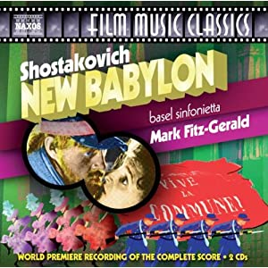 gt buy this cd at amazon com  shostakovich  new babylon  naxos