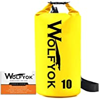 Wolfyok Roll Top Waterproof Floating Duffle Dry Gear Bag