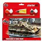 Airfix A55303 King Tiger 1:76 Scale M...