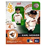 Earl Weaver MLB Baltimore Orioles Hall of Fame Oyo G2S2 Minifigure
