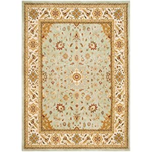 5 39 3 x 7 39 6 rectangular safavieh area rug for Traditional kitchen rugs