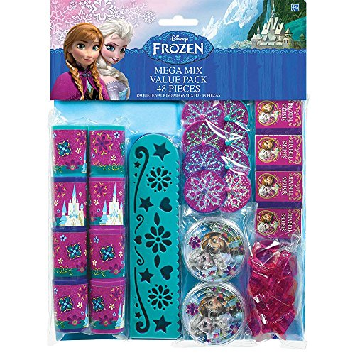 Frozen 48pc Favor Pack Mega Mix Value Pack - 1