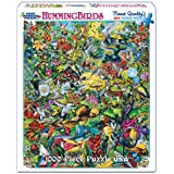 White Mountain Puzzles Hummingbirds - 1000 Piece Jigsaw Puzzle