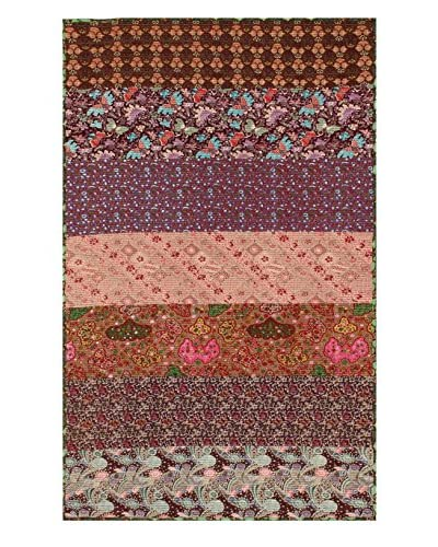 """nuLOOM One-of-a-Kind Indonesian Rug, Multi, 4' 11"""" x 8' 3"""""""