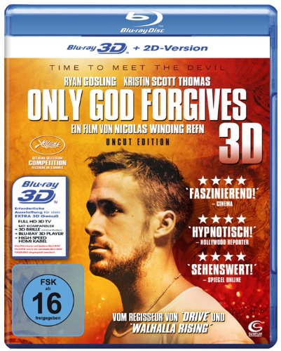 Only God Forgives (Uncut) [3D Blu-ray + 2D Version]