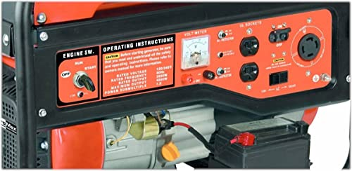 duromax elite mx and mxe watt portable generator the control panel of the duromax elite mx4500 and mx4500e is located on the side of the generator when you face the control panel you will to the