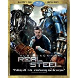 Real Steel (3-Disc Combo Pack) [Blu-ray + DVD + Digital Copy]by Hugh Jackman