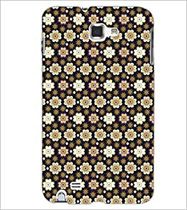 PrintDhaba Pattern D-5285 Back Case Cover for SAMSUNG GALAXY NOTE 1 (Multi-Coloured)