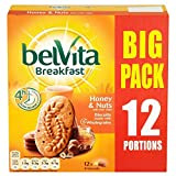 Belvita Breakfast Biscuits - Honey & Nuts with Choc Chips (12x50g)
