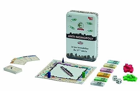 University Games - 08852 - Jeu de Voyage - Anti-Monopoly version voyage (boîte métal)