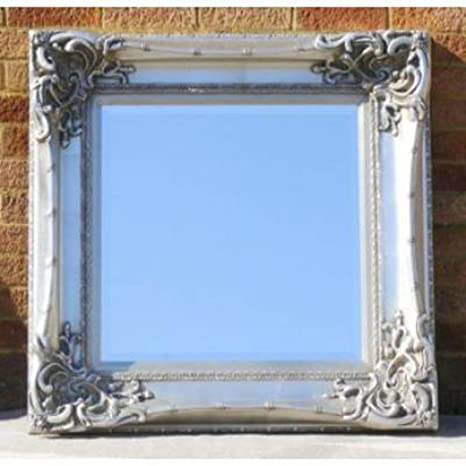 Square Silver Monte Carlo Mirror (3ft x 3ft)