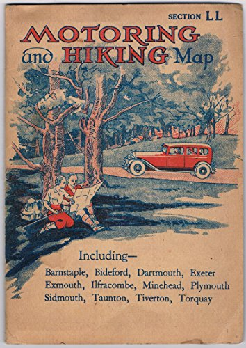 motoring-and-hiking-map-section-ll-scale-3-miles-to-an-inch-including-barnstaple-bideford-dartmouth-