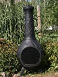 The-Blue-Rooster-Orchid-Chiminea-with-Gas-in-Charcoal